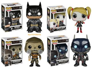 Batman Arkham Knight Funko Pop Harley Quinn - Funko POP!/Pop! DC Heroes - Little Geek