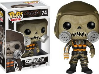 Batman Arkham Knight Funko Pop Scarecrow - Funko POP!/Pop! DC Heroes - Little Geek