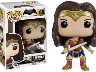 Batman v Superman Funko Pop Wonder Woman - Funko POP!/Pop! DC Heroes - Little Geek