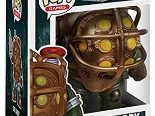 BioShock Funko Pop Big Daddy 16 cm - Funko POP!/Pop! Jeux Vidéo - Little Geek