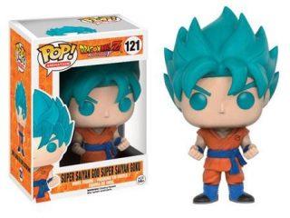 DBZ Resurrection F Funko POP Goku Super Saiyan God Blue - Funko POP!/Pop! Dragon Ball - Little Geek