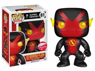 DC Comics Funko Pop New 52 Reverse Flash