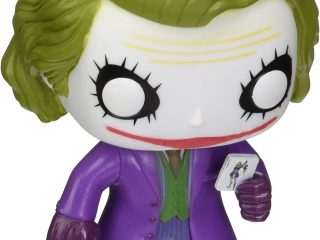 DC Heroes Funko Pop Batman Dark Knight Joker - Funko POP!/Pop! DC Heroes - Little Geek