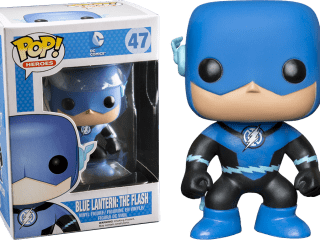 DC Heroes Funko POP Blue Lantern Flash - Funko POP!/Pop! DC Heroes - Little Geek