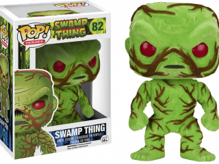 DC Heroes Funko Pop Swamp Thing Flocked - Funko POP!/Pop! DC Heroes - Little Geek