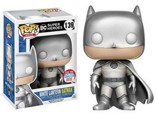 DC Heroes Funko POP White Lantern Batman - Funko POP!/Pop! DC Heroes - Little Geek