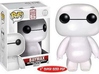 Disney Funko POP Big Hero 6 Baymax Pearlescent Oversized - Funko POP!/Pop! Disney - Little Geek