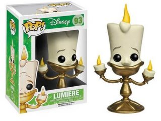 Disney Funko POP figurine La Belle Et La Bête Lumière - Funko POP!/Pop! Disney - Little Geek
