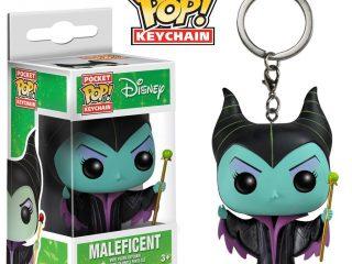Disney Funko POP Pocket Keychain figurine Maleficent 4 cm - Funko POP!/Pop! Disney - Little Geek