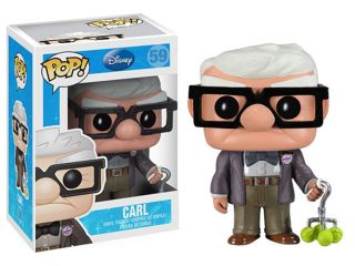 Disney Là Haut Funko Pop Carl - Funko POP!/Pop! Disney - Little Geek