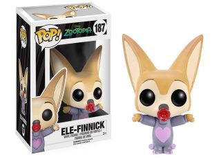 Disney Zootopia Funko Pop Ele-Finnick - Funko POP!/Pop! Disney - Little Geek