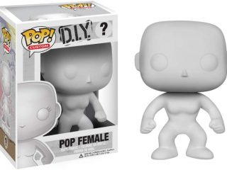 DIY Funko POP figurine Blank Female #