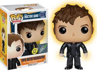 Doctor Who Funko Pop 10th Doctor Regeneration Glow In The Dark - Funko POP!/Pop! Doctor Who - Little Geek