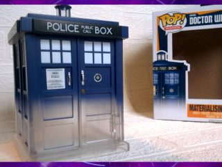 Doctor Who Funko Pop Materialising Tardis