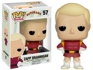 Futurama Funko Pop Zapp Brannigan - Funko POP!/Pop! Animation - Little Geek
