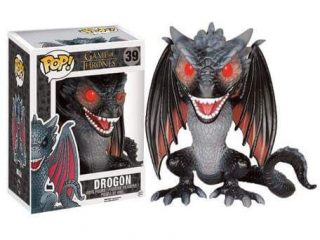 Game of Thrones Funko POP figurine Dragon Rhaegal Oversized 15cm - Funko POP!/Pop! Game Of Thrones - Little Geek