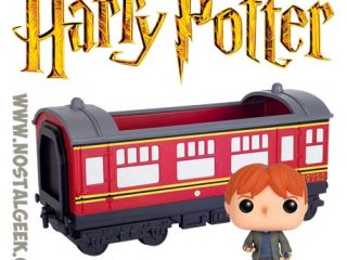 Harry Potter Funko Pop Hogwarts Express & Ron Weasley - Funko POP!/Pop! Harry Potter - Little Geek