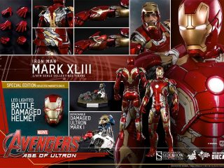 Hot Toys & Sideshow Collectibles - COSBABY Marvel's Avengers Age Of Ultron IRON MAN MARK XLII