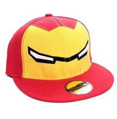 Iron Man Casquette Baseball Stark Yellow Logo - Casquettes - Little Geek