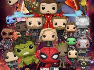 Marvel Funko Pop Gardiens de la Galaxie Thanos Oversized Glow in the Dark - Funko POP!/Pop! Marvel - Little Geek