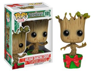 Marvel Funko Pop Holiday Dancing Groot - Funko POP!/Pop! Marvel - Little Geek