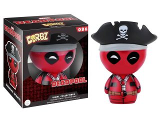 Marvel Vinyl Sugar Dorbz Vinyl figurine Pirate Deadpool - Dorbz - Little Geek