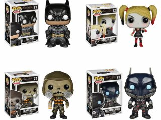 Préco - Batman Arkham Knight Funko Pop Pack 4 Figurines