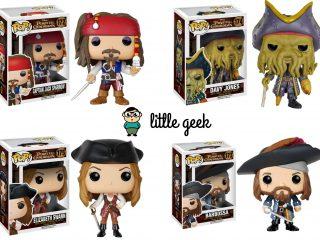 Préco - Pirates des Caraïbes Funko Pop Pack 4 Figurines