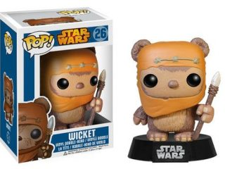 Star Wars Funko POP figurine Wicket - Funko POP! - Little Geek