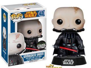 Star Wars Funko Pop Unmasked Darth Vader # - Funko POP!/Pop! Star Wars - Little Geek