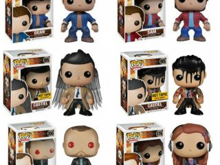 Supernatural Funko POP figurines Pack 2 Pop Sam & Dean - Funko POP!/Pop! Série TV - Little Geek