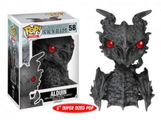 The Elder Scrolls V Skyrim Funko POP Alduin - Funko POP!/Pop! Jeux Vidéo - Little Geek