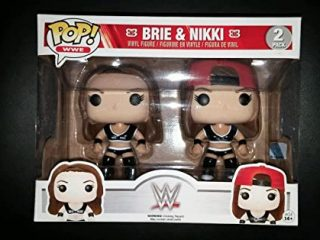 WWE Superstars Funko Pop Brie & Nikki Bella 2 Pack